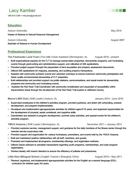 Kamber Resume