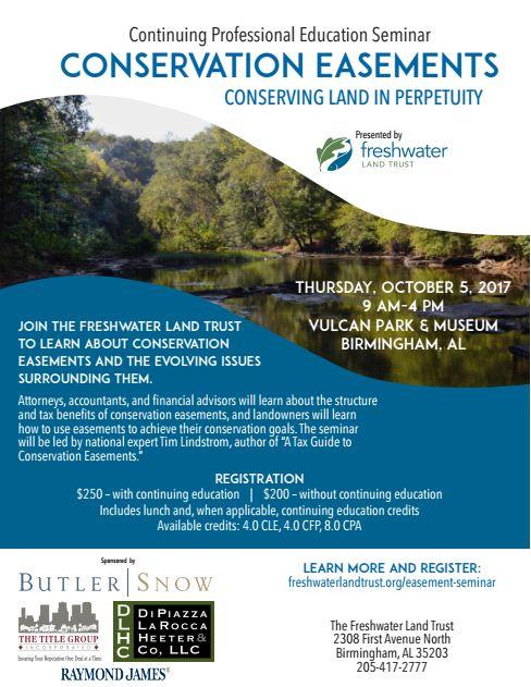 Freshwater Land Trust Conservation Easement Seminar